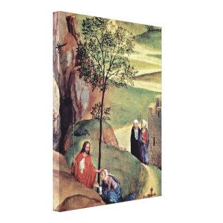 Hans Memling - Noli me tangere Canvas Prints