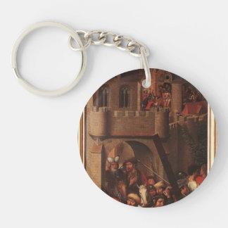 Hans Memling- Passion (Greverade) Altarpiece Keychain