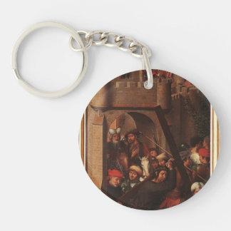 Hans Memling- Passion (Greverade) Altarpiece Key Chain