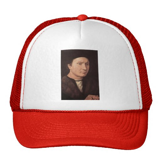 Hans Memling- Portrait of a Man Hats