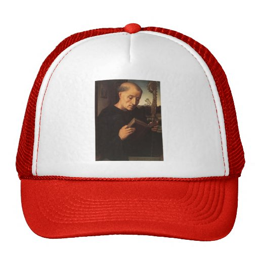 Hans Memling- Portrait of Benedetto Portinari Mesh Hat