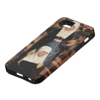 Hans Memling- Praying Donor with Saints iPhone 5 Covers