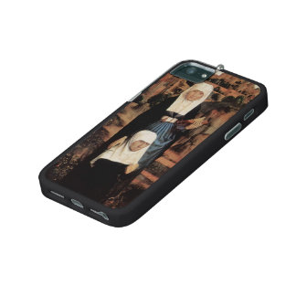 Hans Memling- Praying Donor with Saints iPhone 5/5S Case