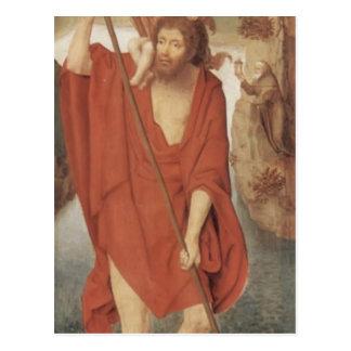 Hans Memling- St. Christopher Postcard