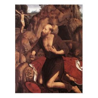 Hans Memling- St. Jerome Postcard