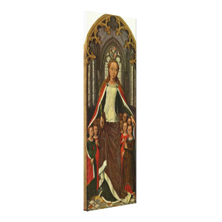 Hans Memling - St Ursula and her companions Gallery Wrapped Canvas