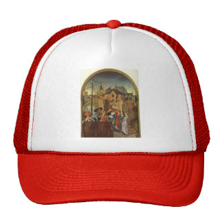 Hans Memling- St. Ursula and her companions Trucker Hat