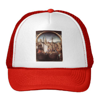 Hans Memling- St. Ursula and her companions Mesh Hat