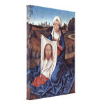 Hans Memling - St Veronica Gallery Wrap Canvas