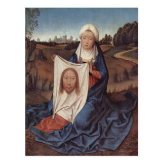Hans Memling- St. Veronica Postcard
