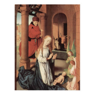 Hans Memling- The Nativity Postcard