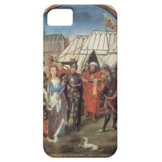 Hans Memling- The Reliquary of St. Ursula iPhone 5 Covers