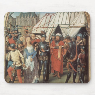 Hans Memling- The Reliquary of St. Ursula Mouse Pad