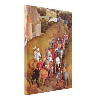 Hans Memling - Train of the Magi Canvas Prints