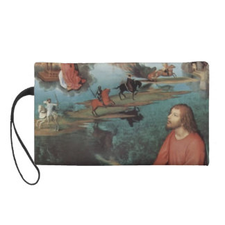 Hans Memling- Triptych of the Mystical Marriage Wristlet Purses