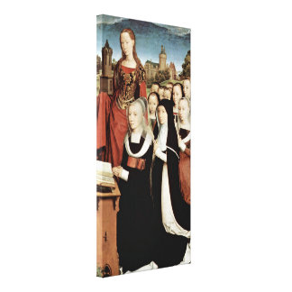Hans Memling - Triptych of Willem Moreel Canvas Prints