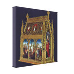 Hans Memling - Ursula Shrine Canvas Prints