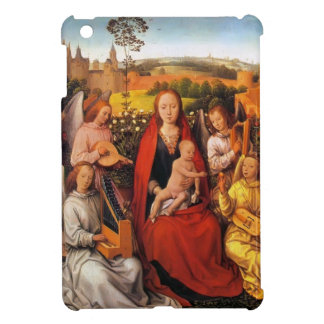 Hans Memling:Virgin and Child with Musician Angels iPad Mini Case