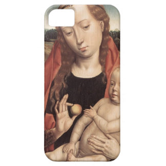 Hans Memling- Virgin & Child Reaching for his Toe iPhone 5 Cover