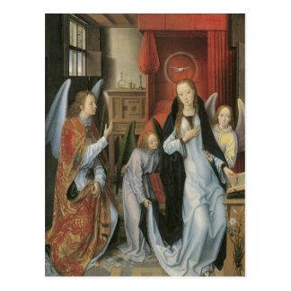 Hans Memling's Annunciation Postcard