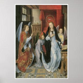 Hans Memling's Annunciation Poster