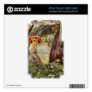 Hans Thoma - In the sunshine Skins For iPod Touch 4G