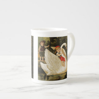 Hansel and Gretel and the Swan Tea Cup