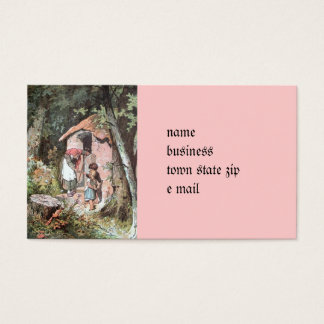 Hansel and Gretel and the Witch at the Door Business Card