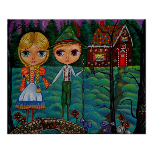 Hansel and Gretel Blythe Dolls Posters