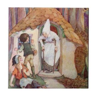 Hansel and Gretel Ceramic Tile