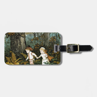 Hansel and Gretel Illustration Bag Tag