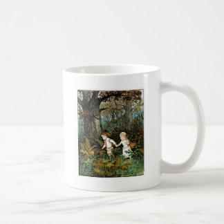 Hansel and Gretel Illustration Coffee Mug