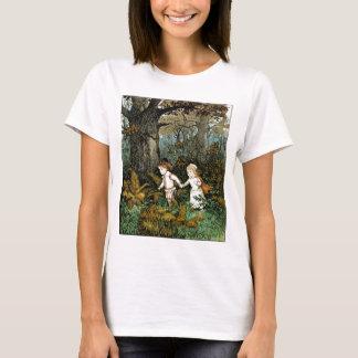 Hansel and Gretel Illustration T-Shirt