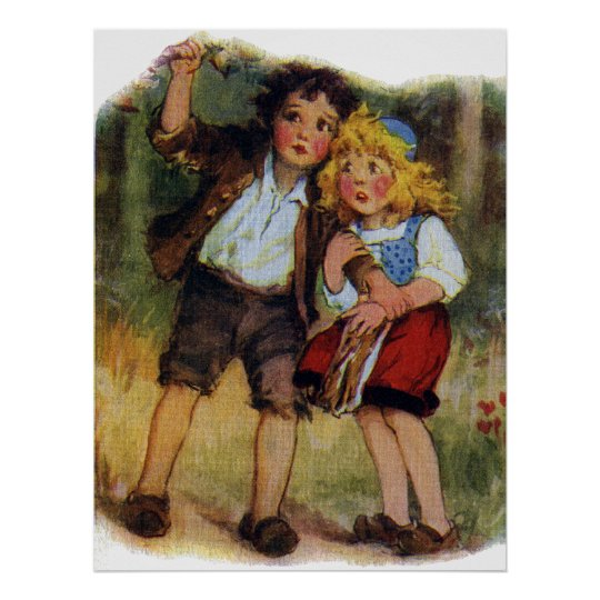 Hansel and Gretel Lost in the Woods Poster