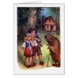 Hansel and Gretel Meet the Witch Greeting Card