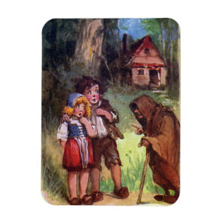 Hansel and Gretel Meet the Witch Magnet
