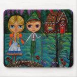 Hansel and Gretel Mousepad