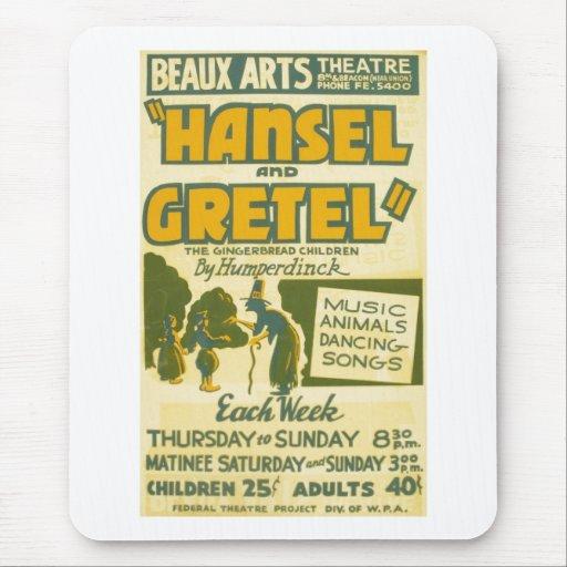 Hansel and Gretel - Opera by Engelbert Humperdinck Mouse Pad