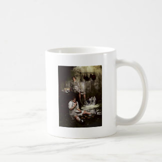 Hansel and Gretel with Chocolate Cake Coffee Mug