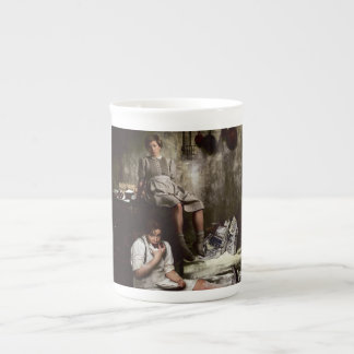 Hansel and Gretel with Chocolate Cake Tea Cup