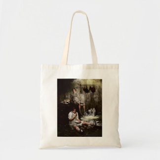 Hansel and Gretel with Chocolate Cake Tote Bag