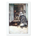 """Hansel Caged by the Witch 5"""" X 7"""" Invitation Card"""