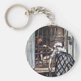 Hansel Caged by the Witch Keychain