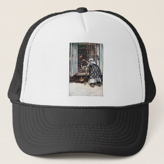 Hansel Caged by the Witch Trucker Hat