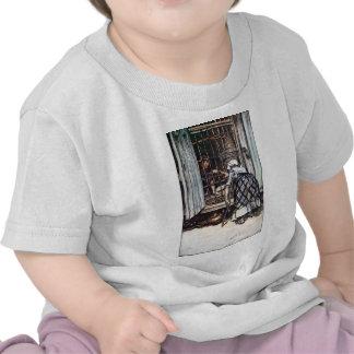 Hansel enjauló por la bruja camisetas