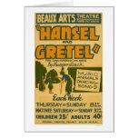 Hansel & Gretel Boston 1940 WPA Card