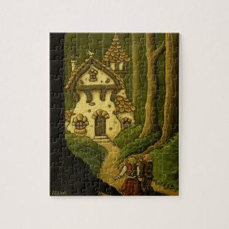 hansel & gretel fairytale puzzle