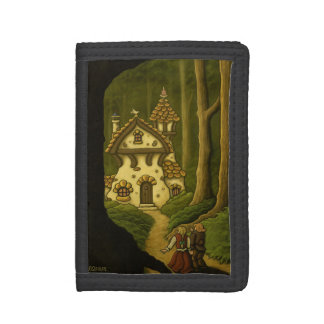 hansel & gretel grimm fairytale wallet