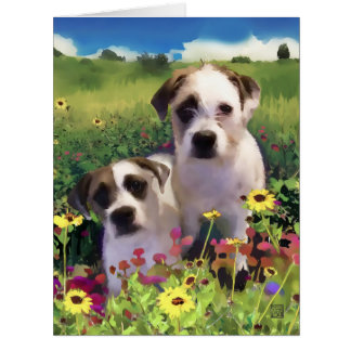 HANSEL & GRETEL heARTdogs Card