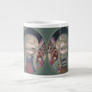 """Hansel & Gretel"" Mug 20 Oz Large Ceramic Coffee Mug"